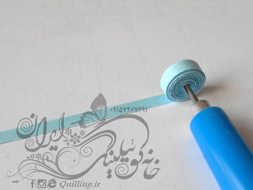 آموزش جغد ساده با هنر کوئیلینگ