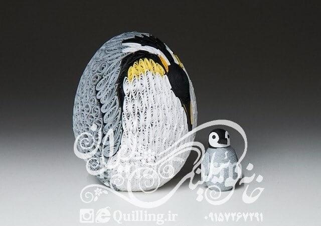 ایده بی نظیر ساخت تخم مرغ با کوئیلینگ