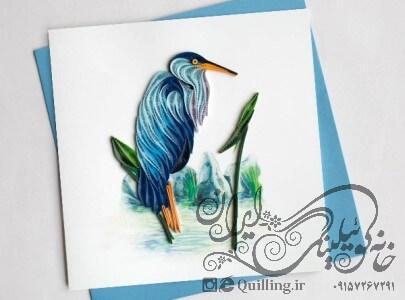 کارت پستال حرفه ای کوئیلینگ