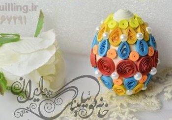 آموزش اصول اولیه ساخت تخم مرغ کوئیلینگ