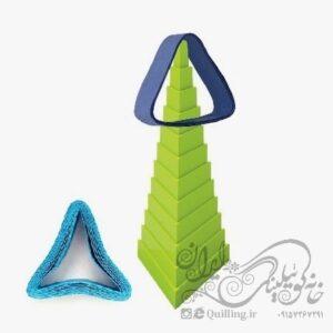 هرم مثلث
